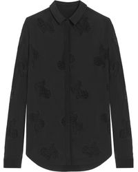 Mulberry Black School Shirt - Lyst