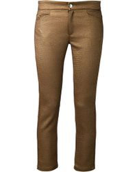 Roseanna - Textured Trousers - Lyst