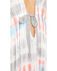 Young Fabulous & Broke - Julie Caftan Maxi Dress - Coral - Lyst