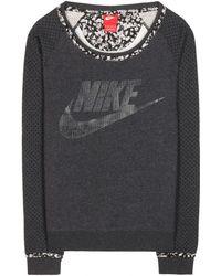 Nike x Liberty Fleece-Lined Cotton-Blend Sweatshirt - Lyst