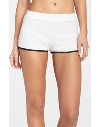 Monrow Supersoft Lounge Shorts - Lyst