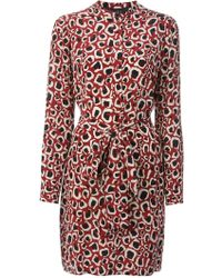 Gucci Printed Dress - Lyst