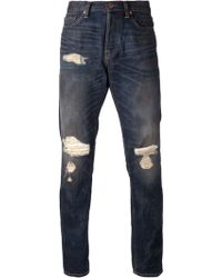 Bliss and Mischief - Ripped Jeans - Lyst