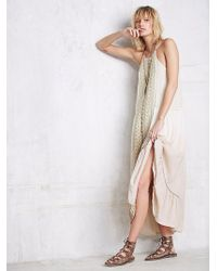 Free People Womens Seminyak Square Dress - Lyst