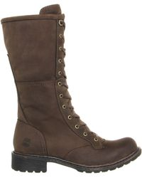 Timberland Stoddard Mid Lace Boot - Lyst