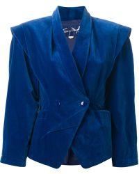 Thierry Mugler Velvet Jacket - Lyst