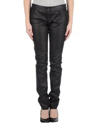 Gucci Black Denim Pants - Lyst