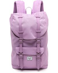 Herschel Supply Co. Little America Mid Backpack  Mauve - Lyst