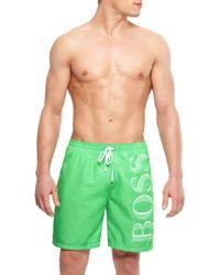 Hugo Boss Killifish Bm  Quick Dry Logo Board Shorts - Lyst