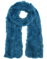 Meteo by Yves Salomon - Rabbit Fur Scarf - Lyst