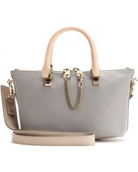 Chloé Baylee Small Leather Tote - Lyst