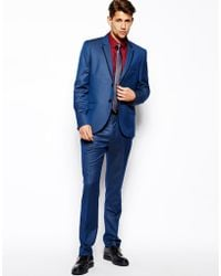 French connection Slim Fit Suit Pant Chambrey - Lyst