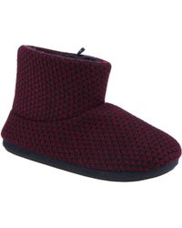 John Lewis - Chunky Knit Boot Slippers - Lyst
