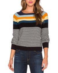 H.one | Stripe Sweater | Lyst
