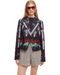 Suno Flared Lapel Jacket - Lyst