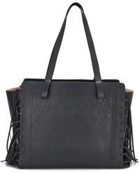 By Malene Birger - Women'S Braciona Leather Fringe Tote Bag - Lyst