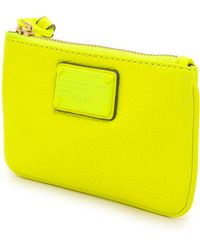 Marc By Marc Jacobs Electro Q Small Wristlet  Black - Lyst