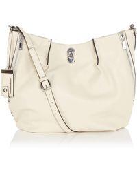 Karen Millen Large Leather Shoulder Bag - Lyst