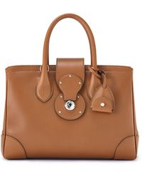 Ralph Lauren Small Ricky Tote - Lyst