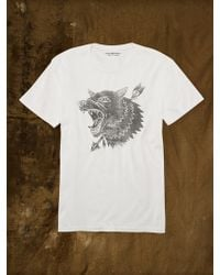 Denim & Supply Ralph Lauren Wolf Graphic Tee - Lyst