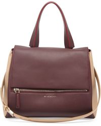 Givenchy Pandora Medium Bicolor Satchel Bag - Lyst