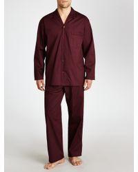 John Lewis Cotton Poplin Dot Pyjamas