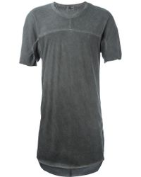 Lost & Found | Long Line T-shirt | Lyst