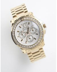 Juicy Couture Goldplated Pedigree Bracelet Watch - Lyst