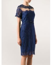 Notte By Marchesa B Cocktail Dress - Lyst