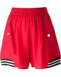 Love Moschino Sports Shorts - Lyst