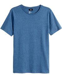 H&M Jersey T-Shirt - Lyst