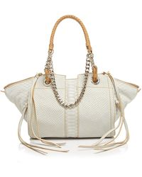 Ramy Brook - Satchel - Camile Mini Snake-Embossed - Lyst