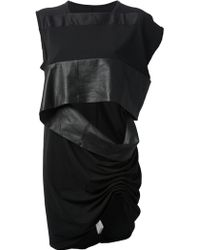 Rick Owens Structured Tank Top - Lyst