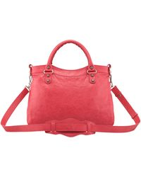 Balenciaga Giant 12 Nickel Town Bag Rose Thulian - Lyst