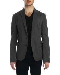 Costume National Grey Jacket - Lyst