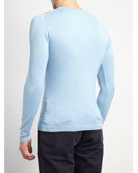 Browns - Lightweight Knitted Jumper - Lyst