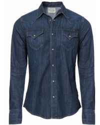 True Religion Jake Denim Shirt - Lyst