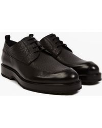 Pierre Hardy   Grained Panel Leather Shoes   Lyst