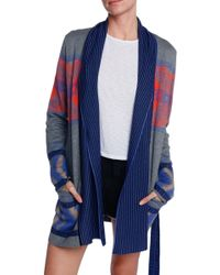 Twelfth Street by Cynthia Vincent Log Cabin Cardigan - Lyst