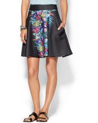 Cynthia Rowley | Bonded A-Line Skirt | Lyst