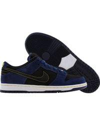 "Nike Sb Dunk Low Pro ""Jedi Lanvins"" blue - Lyst"