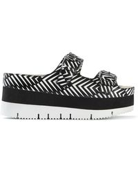 Ash 'Viola' Platform Slide Sandals - Lyst