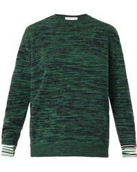 Stella McCartney Marl Knit Crewneck Sweater - Lyst