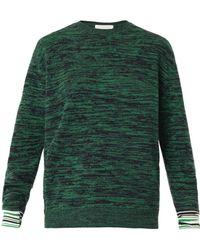 Stella McCartney Wool Sweater green - Lyst