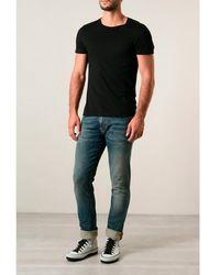 Nudie Jeans  Thin Finn Dusk Indigo Jeans - Lyst