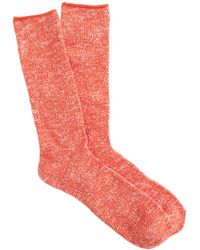 J.Crew Marled Cotton Socks - Lyst