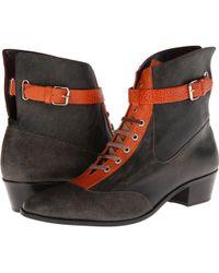 Vivienne Westwood Orange Cuban Boot - Lyst