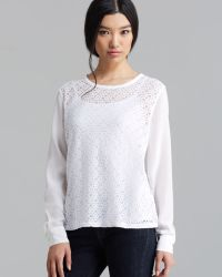 Equipment Tee Liam Revival Lace - Lyst