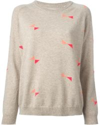 Chinti And Parker Bow Sweater - Lyst