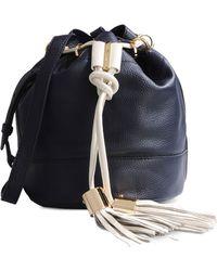 See By Chloé Medium Leather Bag blue - Lyst